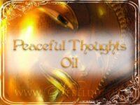 Friedliche Gedanken Ritualöl