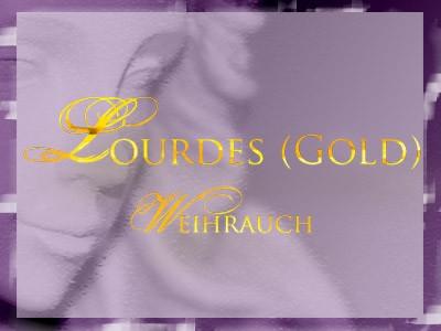 Lourdes Gold Weihrauch