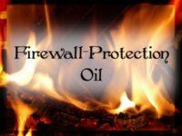 Feuerwall-Schutz Ritualöl