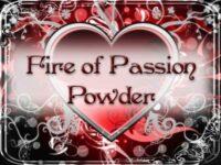 Feuer der Leidenschaft Zauberpulver