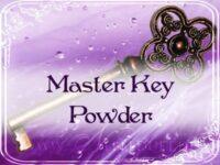 Schlüssel zur Meisterschaft Zauberpulver