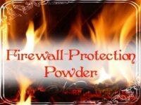 Feuerwall-Schutz Zauberpulver