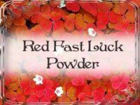 Rotes Schnelles Glück Zauberpulver