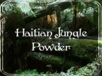 Haitianischer Dschungel Zauberpulver