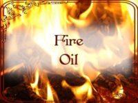 Feuer Hoodoo Öl