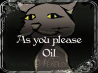 Wie es Dir gefällt! Hoodoo Öl