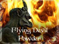 Fliegender Teufel Zauberpulver