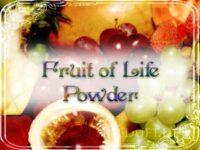 Früchte des Lebens Zauberpulver
