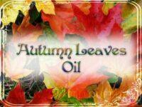 Herbstlaub Hoodoo Öl