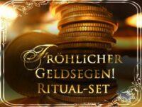 Fröhlicher Geldsegen! Hoodoo-Ritual-Set